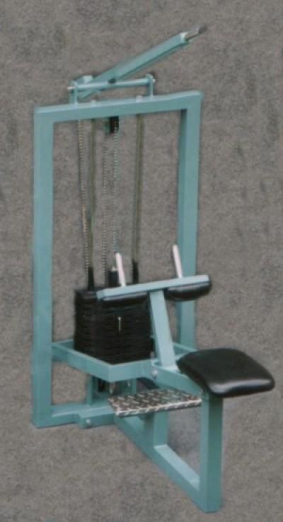 Lýtko v sedě s cihličkovou zátěží